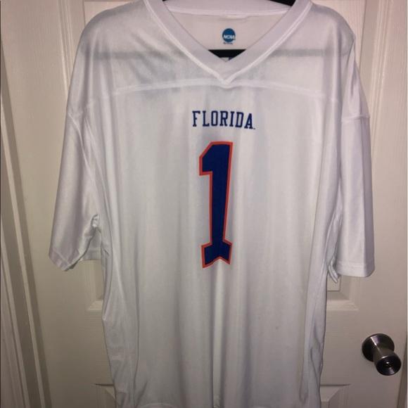 white florida gators jersey